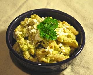 Velvety Broccoli and Feta Pasta