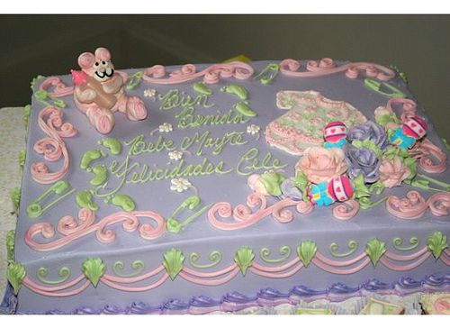design your own baby shower cake online