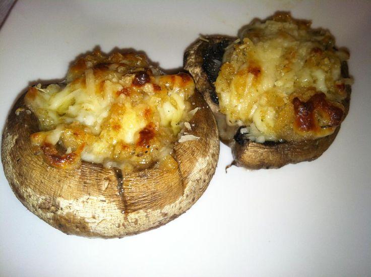 easy stuffed mushrooms! | Food, eats, recipes, yummy | Pinterest