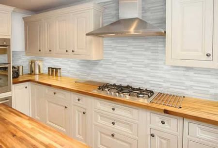 Tile Splashback Kitchen Splashbacks Pinterest