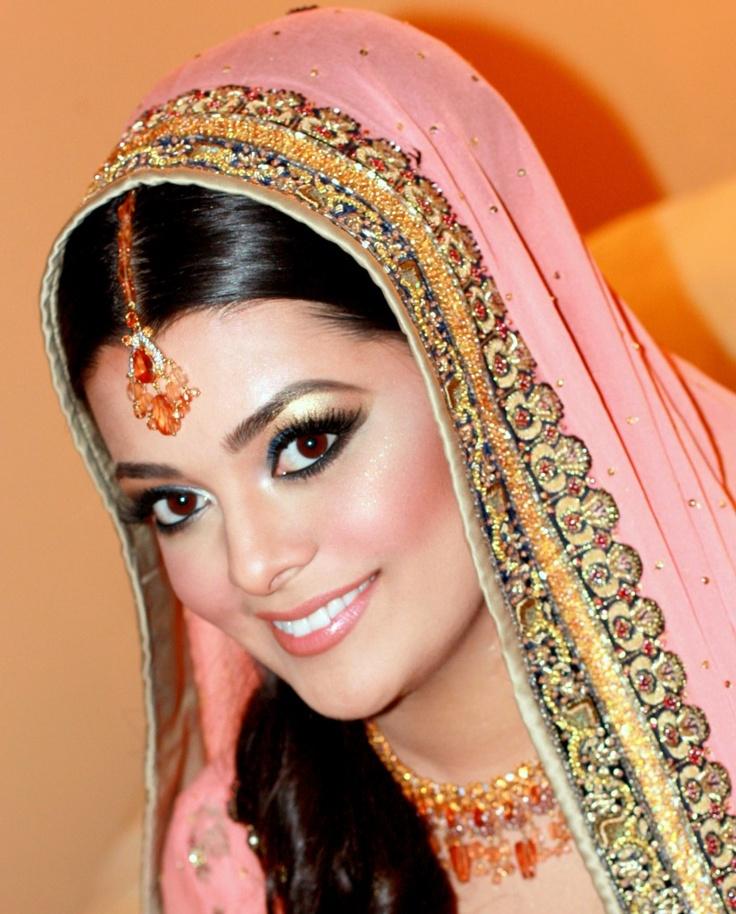 Muslim Beautiful Bridal Makeup : Beautiful Muslim bride India Brides Pinterest