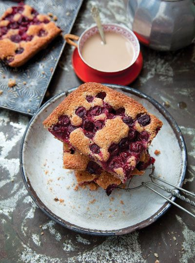 Hungarian Sour Cherry Cake_ Sour cherries grow abundantly in Hungary ...