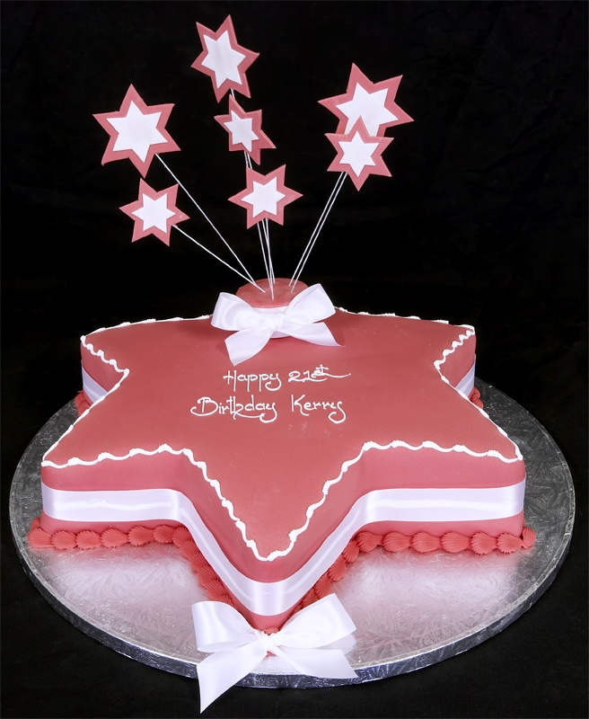 birthday cakes stars