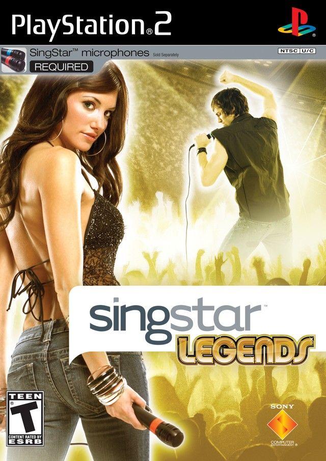 SingStar Legends Sony Playstation 2 Game