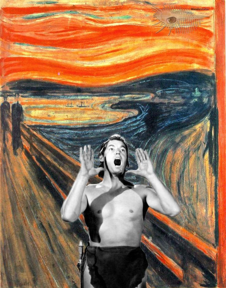 All sizes    quot HOoooHihoHihooo quot  par Edvard Munch  collection tr  232 s    The Scream Edvard Munch Parody