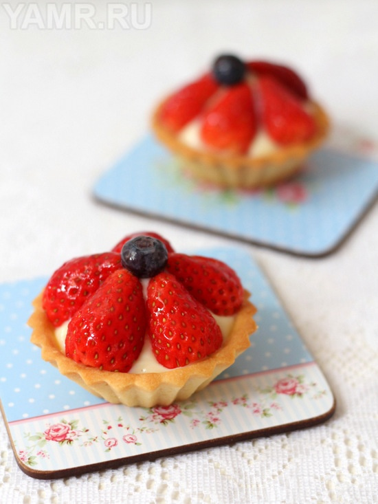 Strawberry Yogurt Tartlet | Fruit | Pinterest