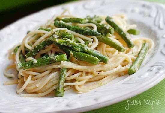 Pasta with Asparagus | YUMMY! | Pinterest