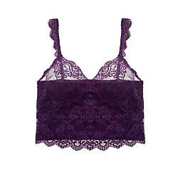 Only Hearts So Fine with Lace Cropped Cami | Journelle Fine Lingerie