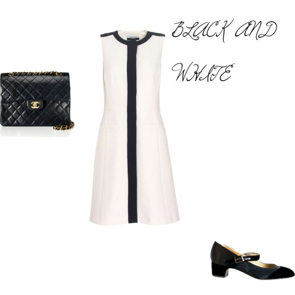 Black and White, created by tashaunlewis on Polyvore