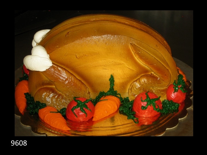 Cooked turkey Thanksgiving cake | cakes | Pinterest