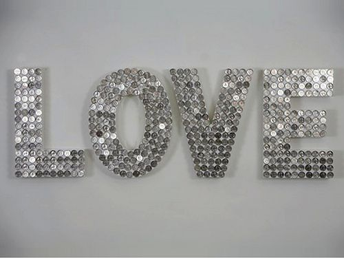 How sweet it is to be loved by you. (Valentine's Day): LOVE art