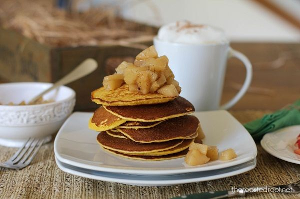 Gluten Free Pancakes with Caramelized Cardamom Pears from the Roasted ...