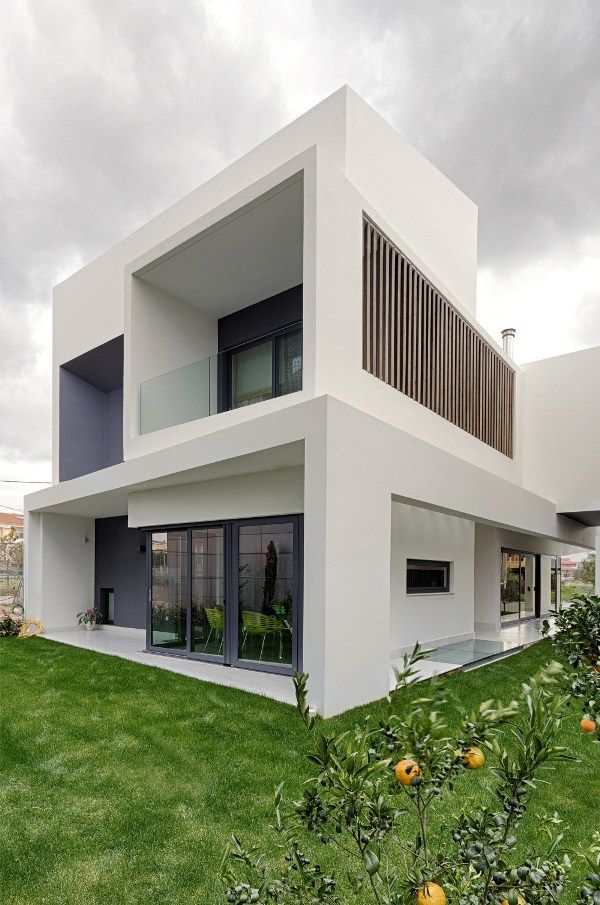 Modern greek home design interesting architecture for In home design reviews