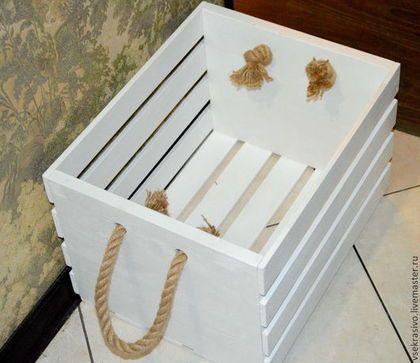 Ящик из поддонов