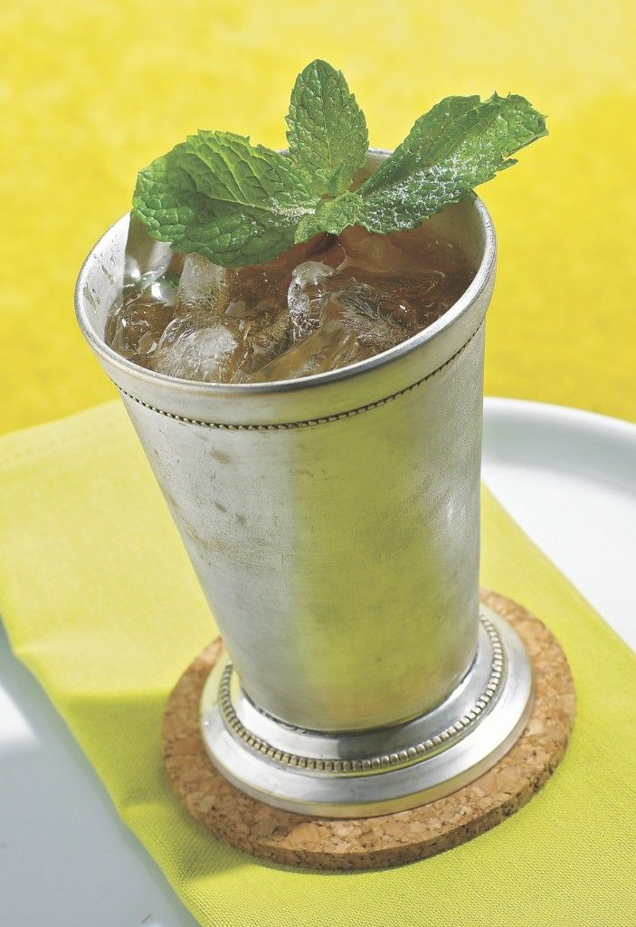 Peach Mint Julep Recipe | Recipes | Pinterest