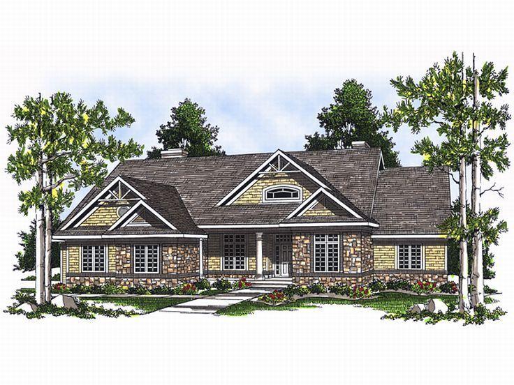 12 harmonious sloping lot house plans house plans 69467 for House plans for downward sloping lots