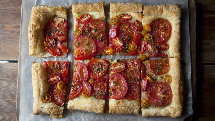 Easy Tomato Tart Recipes — Dishmaps