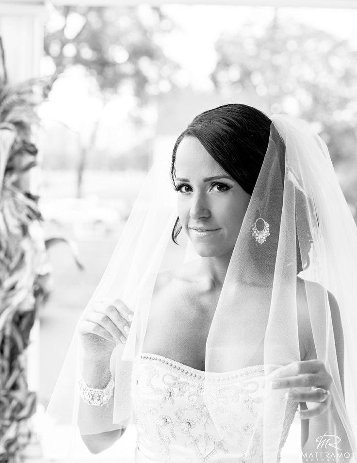 Bride wedding dress stunning black white wedding day love