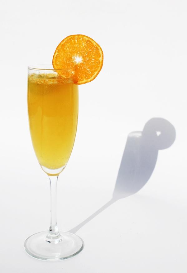 Tangerine Ginger Champagne Cocktail | Recipes - Drinks ...