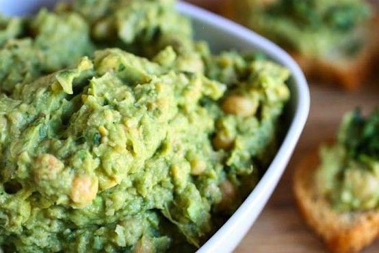 guacamole hummus | Healthy Recipes~ | Pinterest