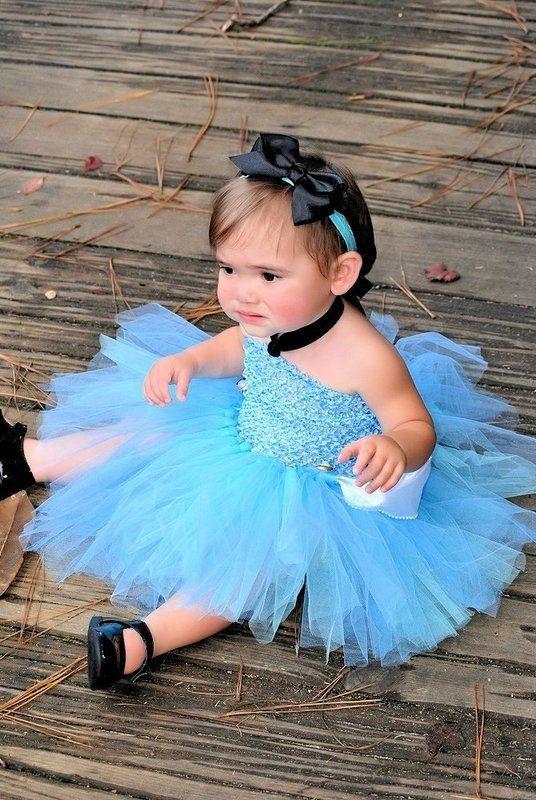 Dress up photo prop or halloween costume for little princess disney
