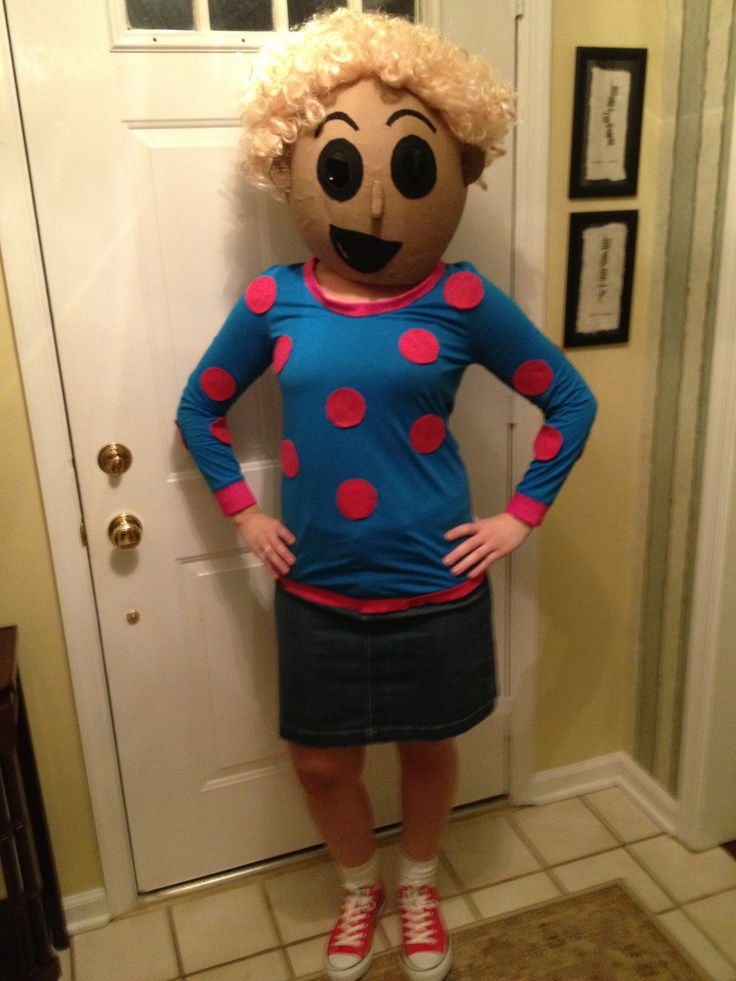 Patty Mayonnaise Costume | www.imgkid.com - The Image Kid ... Quailman Doug Funnie