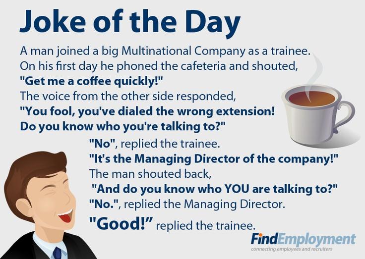 Joke about new employee.... | My Style | Pinterest
