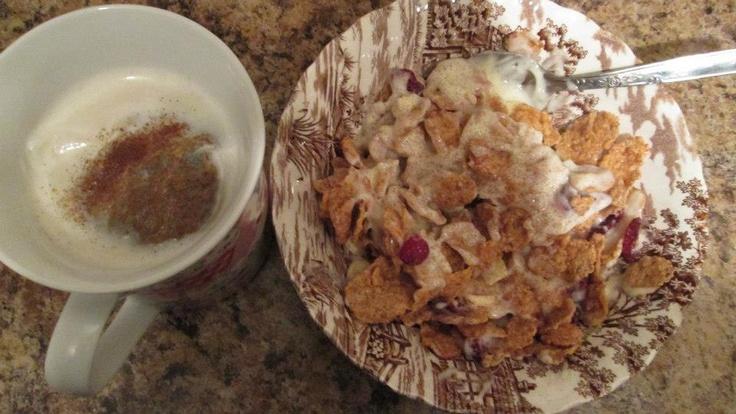 Vanilla vanilla vanilla — Vanilla almond cereal with vanilla pudding ...