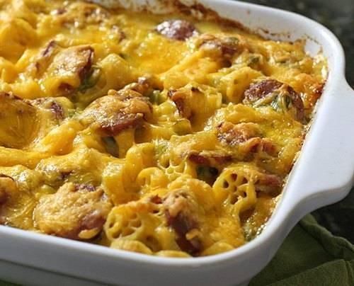 Andouille Sausage Mac & Cheese | Macaroni and Cheese | Pinterest