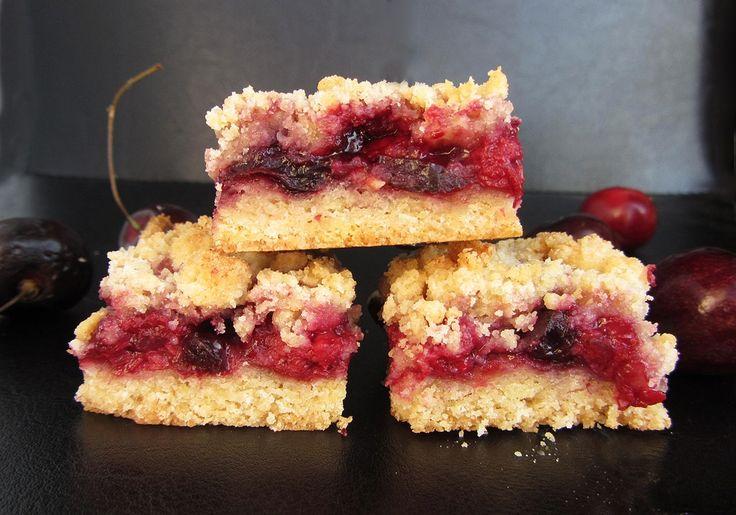 Raspberry Cherry Crumb Bars | Favorite Recipes | Pinterest