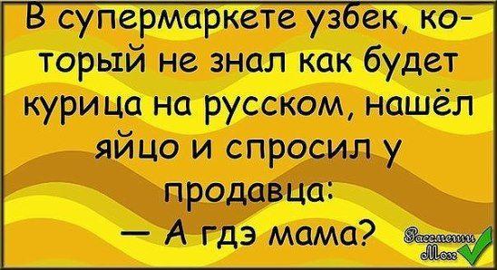 Анекдоты Про Узбеков