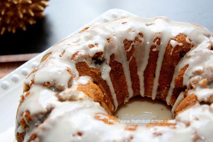 Pecan Crunch Cake -- The Hobo Kitchen