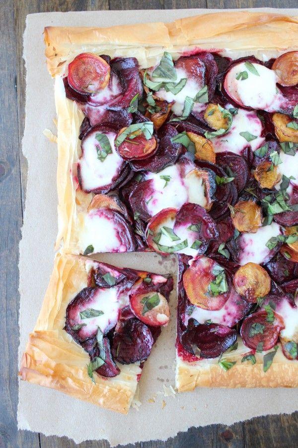 Beet and Burrata Tart | Recipes - pizza/flatbreads | Pinterest