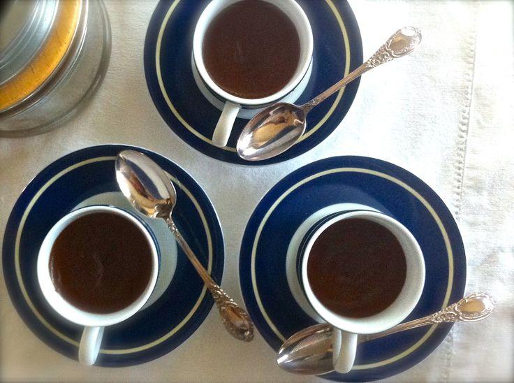 LOW CARB MOCHA CUSTARDS | Low Carb: Pudding ~ Ish | Pinterest