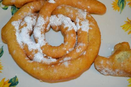 Easy funnel cake | Cake Cupcake Cookies Candies Ect | Pinterest
