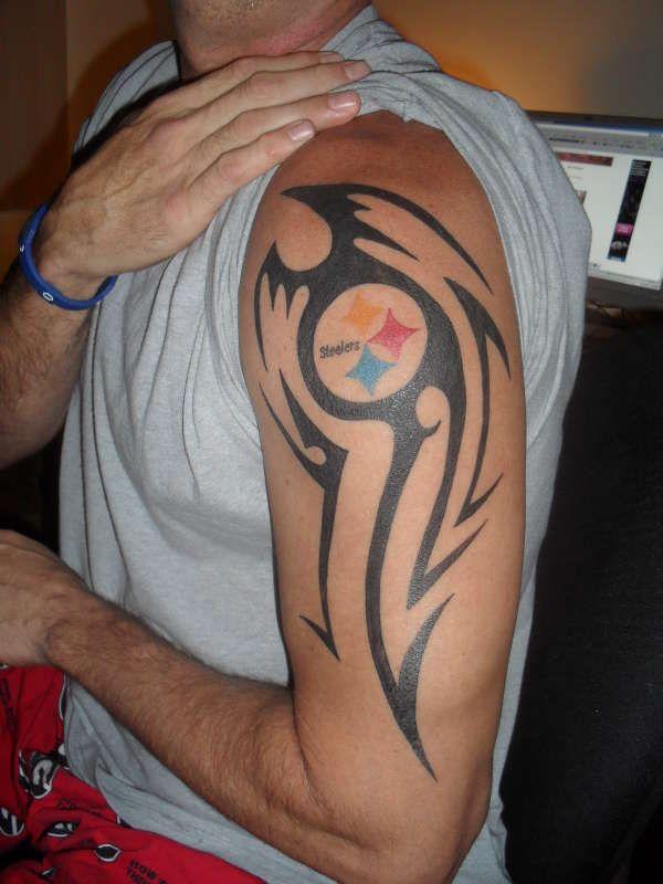 Cool steelers tattoo my steel city steelers pinterest for Pittsburgh tattoo ideas