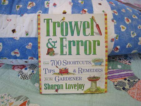Great garden idea book...beautiful and informative. Sharon Lovejoy