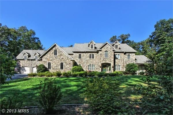 Middleburg va classic stone home northern virginia for Classic luxury homes