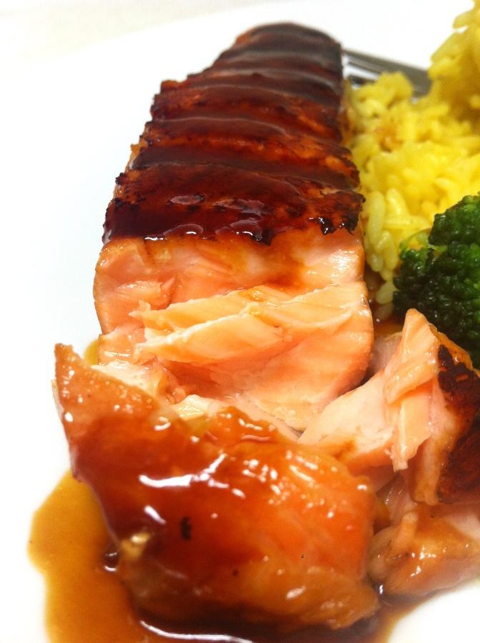 Soy-Ginger Salmon | IamSimplyTia | Fish & Seafood Recipes | Pinterest