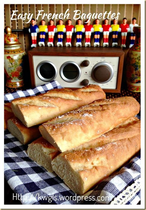 Easy Baguettes From Pamela's Bread Mix Recipes — Dishmaps