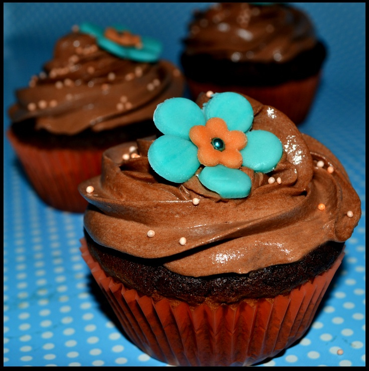 CUPCAKE CHOCOLATE ORANGE | cupcake | Pinterest