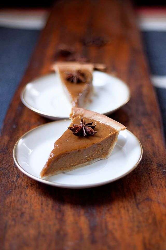 silky smooth pumpkin pie with an easy einkorn crust. spiced with ...