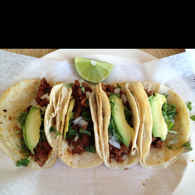 For me, there's nothing better than tacos al pastor!