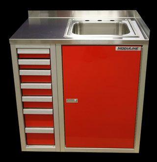 Garage Sink Cabinet : Custom drawer cabinet with sink cabinet ADU Pinterest