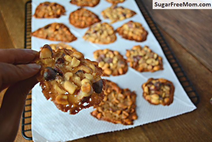 Salty Mixed Nut Cookies Recipe — Dishmaps
