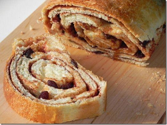 cinnamon-raisin-swirl-bread-1 | Food & Drinks | Pinterest