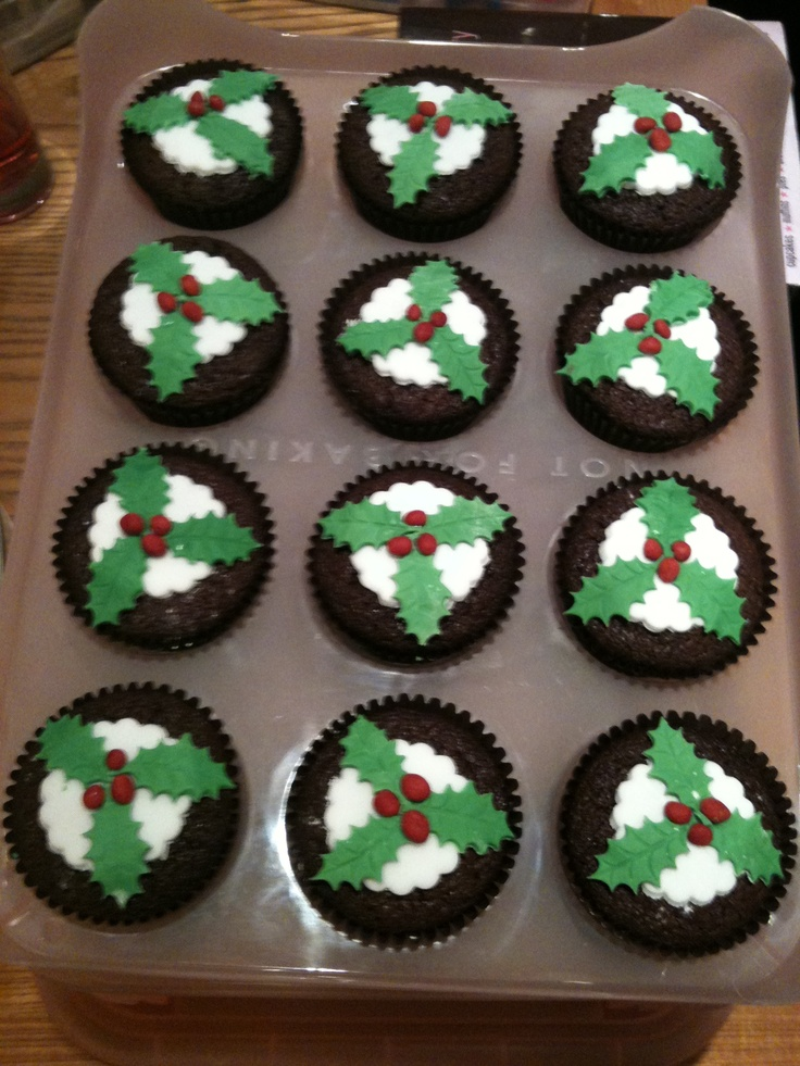 Christmas Cake Designs Pinterest : Christmas cupcakes Cake designs Pinterest