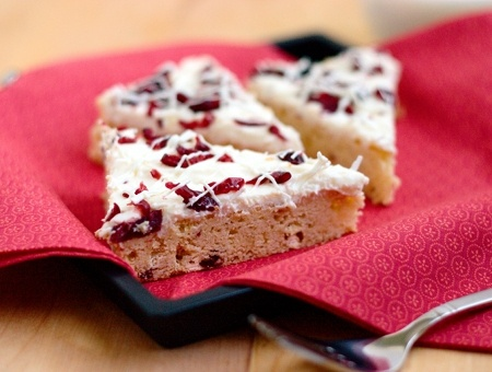 Cranberry Bliss Bars from Red Shallot Kitchen: 02/2012