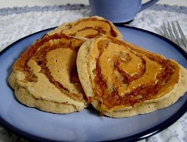 Apple-Cinnamon Swirl Pancakes