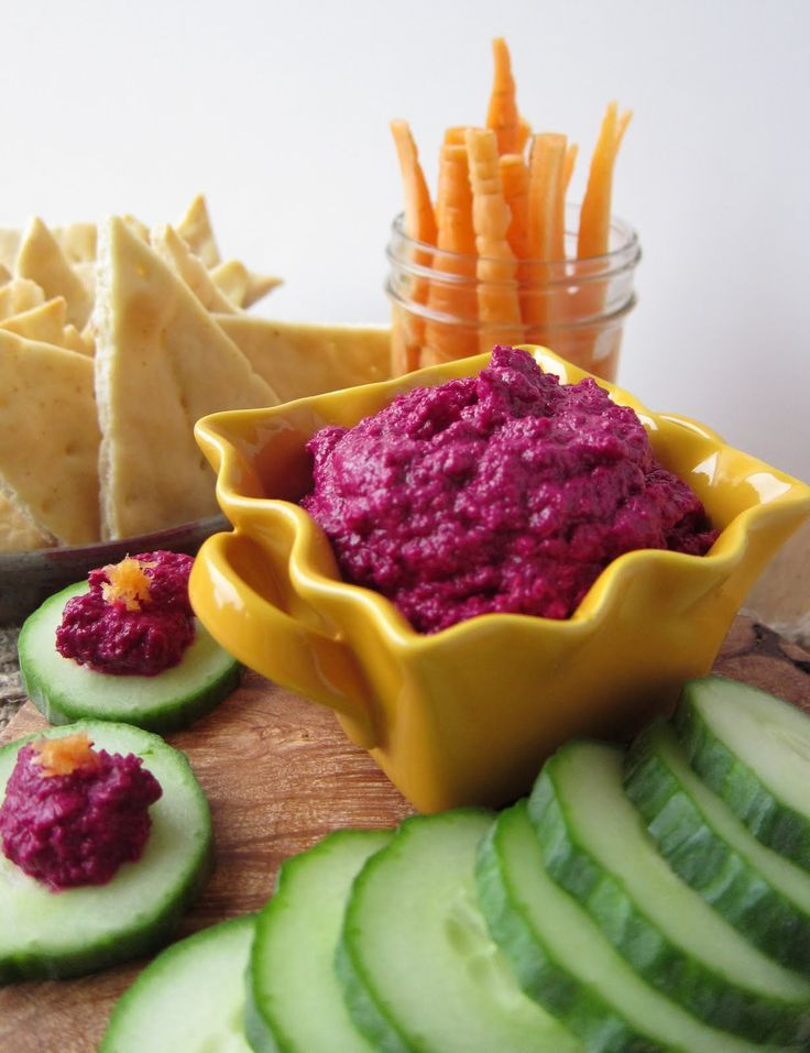 Better Beet Hummus.....vegan. | recipes to try | Pinterest